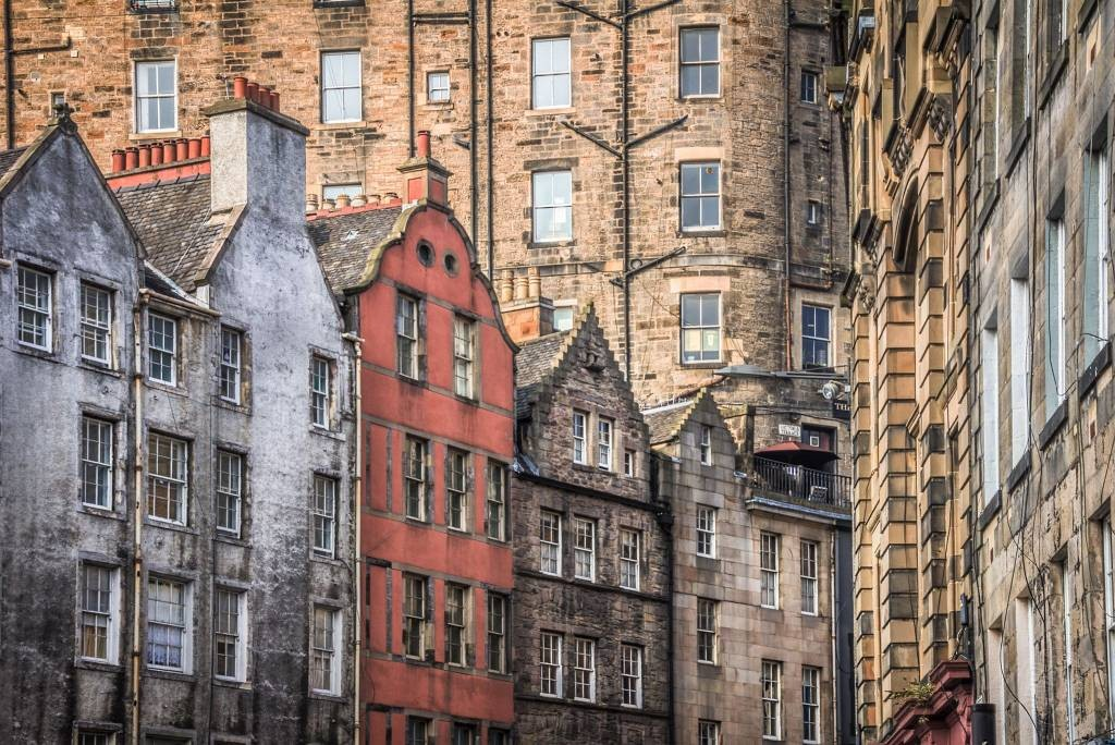 Schottland - Edinburgh - W Bow